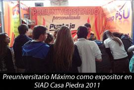 SIAD Casa Piedra 2011