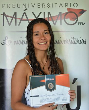 Isabel Gómez-Lobo Puntaje Máximo Nacional PSU