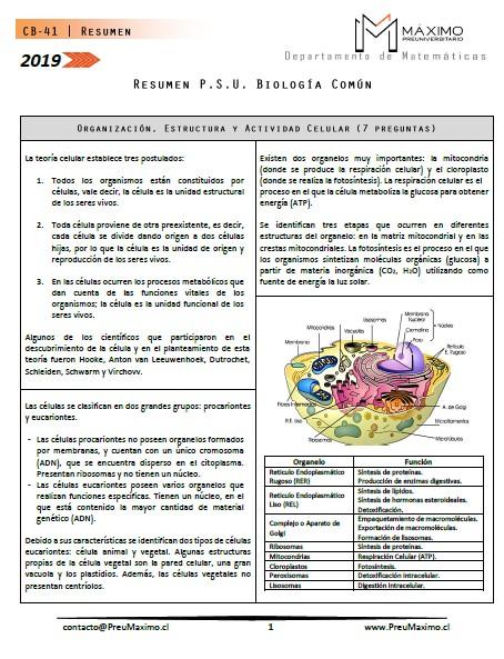 2019-Resumen-PSU-Ciencias-Biologia-Común