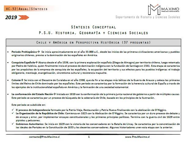 2019-Resumen-PSU-Historia-y-Ciencias-Sociales-Eje-Chile-y-América-en-Perspectiva-Histórica